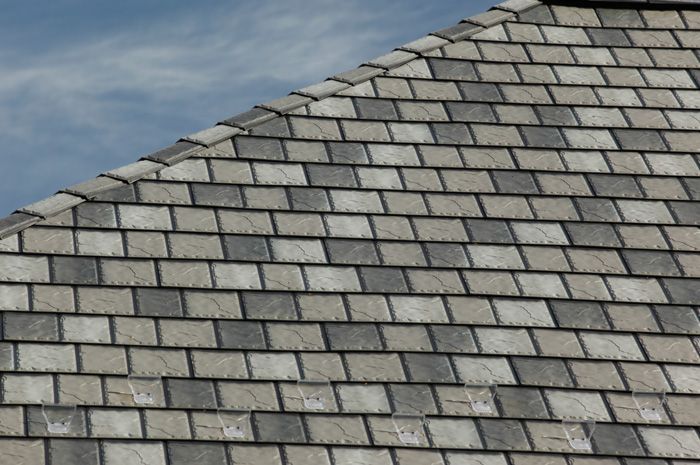 Take A Closer Look At Our Slate Style Steel   We Are Proud To Offer