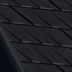 Black-Mica_Wakefield Bridge Steel Roof Tiles_Available at Metal Roof Outlet Ontario