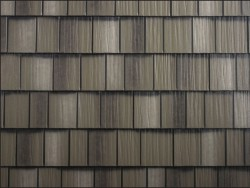 sample image of Arrowline Shake in T-Tone-Blend-1 available from Metal Roof Outlet