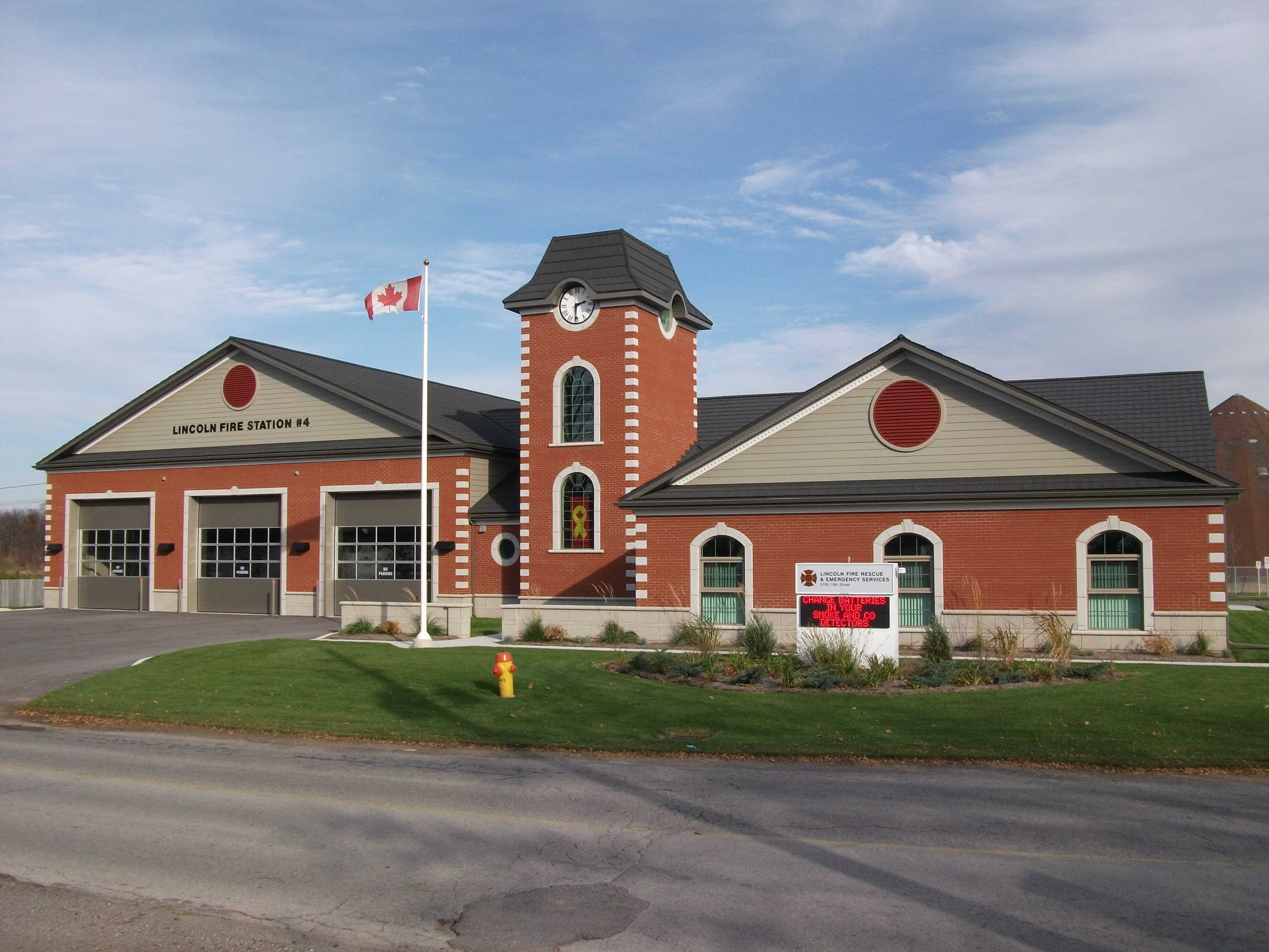 Exceptional The Lincoln Fire Station In Jordan, Ontario Is Protected By A Durable And  Beautiful Metal