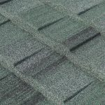 Cottage Shingle Style Shake - Stone-Coated Metal Shake Roofing - Colour Sage Green