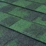 Granite Ridge Stone-Coated Metal Shingles - Sage Green