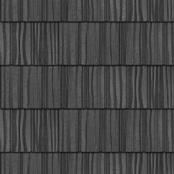 Cedar Creek Shake roof sample product image in the colour Ebony