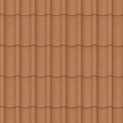 VicWest True Nature Coastal Wave product image in the colour Terracotta (Variation)